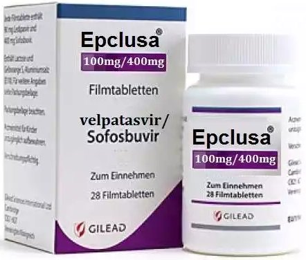 Epclusa is the combination of Sofosbuvir + Velpatasvir